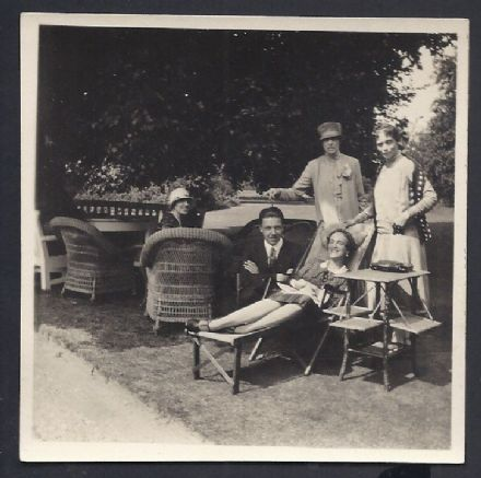 Grand Duchess Xenia Romanov Princess Irina Paley in Garden Frogmore Cottage